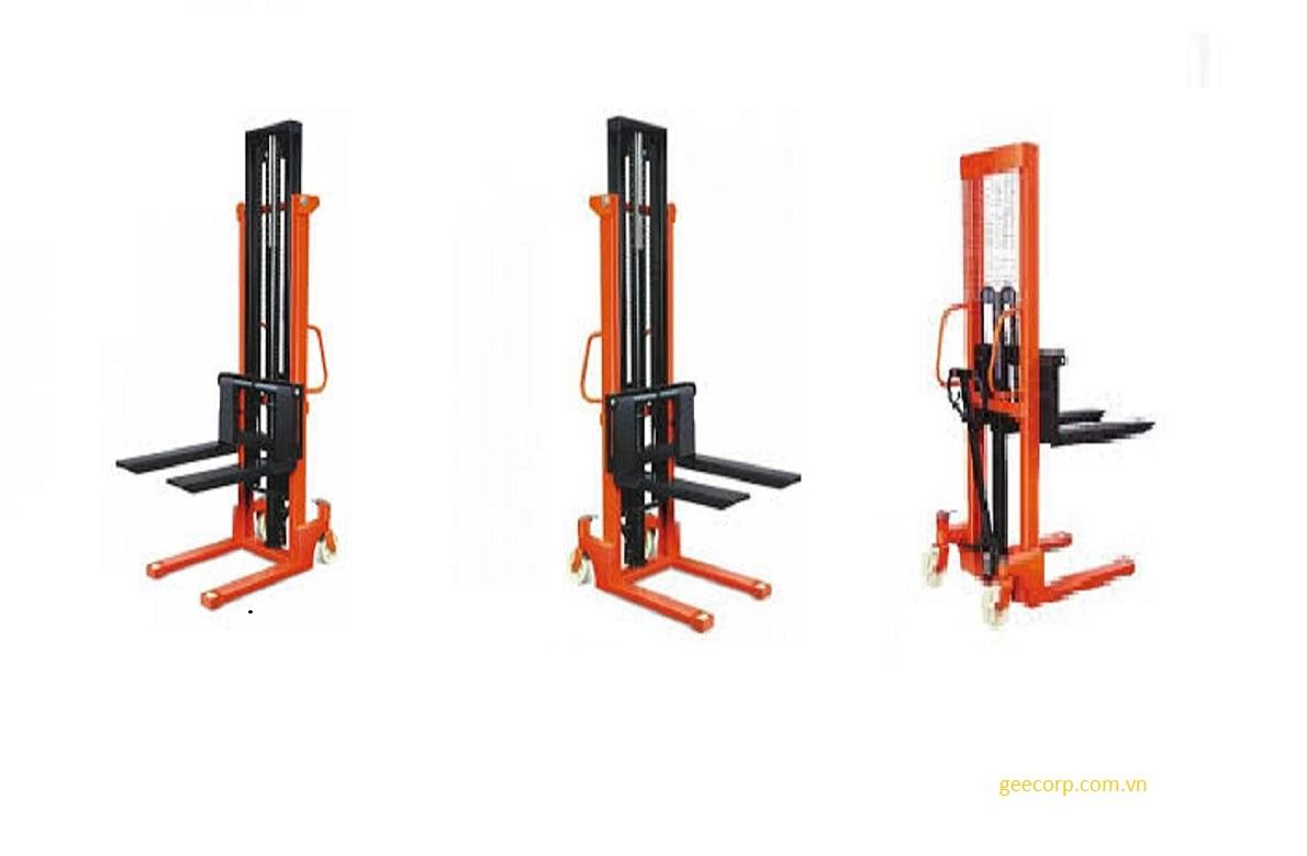 Xe nâng tay cao 1 tấn   1000 kg hydraulic pallet stacker   Liên hệ  0933666667